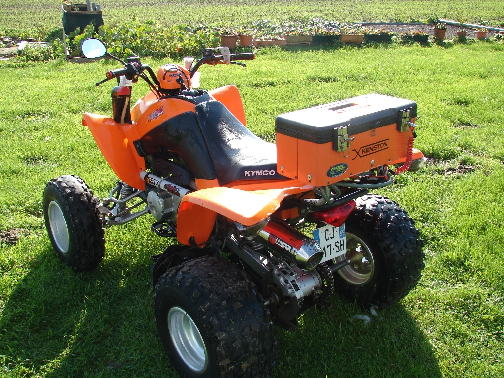 annonce quad kymco maxxer 300 mudding occasion 2006 59 nord herzeele. Black Bedroom Furniture Sets. Home Design Ideas