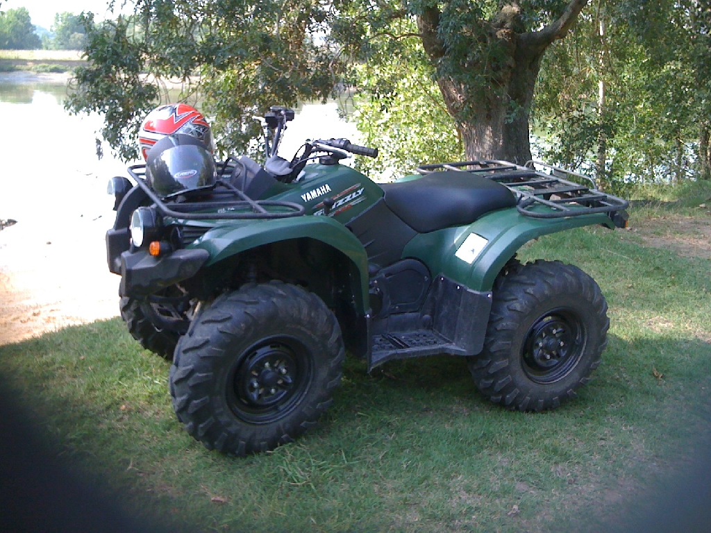 quad yamaha grizzly d'occasion
