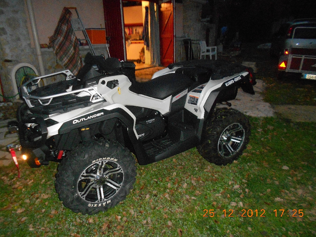 CAN-AM BOMBARDIER Outlander 1000 limited 2013