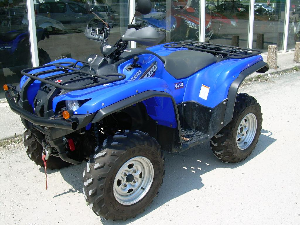 annonce quad yamaha grizzly 700 standard occasion 2009. Black Bedroom Furniture Sets. Home Design Ideas