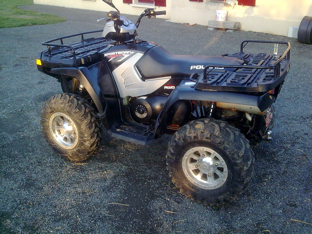 annonce quad polaris sportsman 800 efi occasion 2008 79 deux s vres gourge. Black Bedroom Furniture Sets. Home Design Ideas