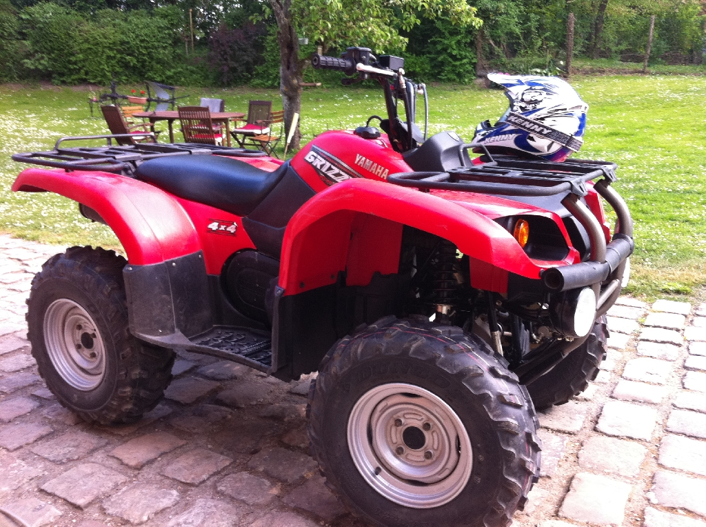 YAMAHA Grizzly 660 maga 2008