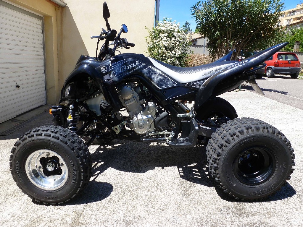 annonce quad yamaha yfm 700 r raptor occasion 2010 11 aude carcassonne. Black Bedroom Furniture Sets. Home Design Ideas
