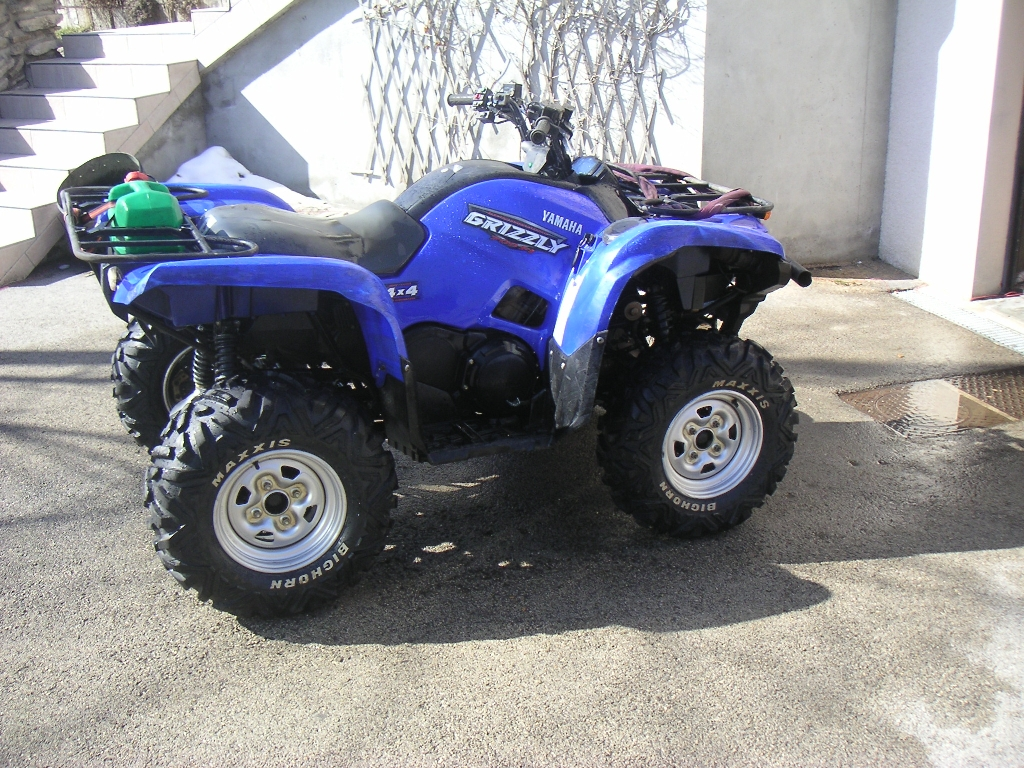YAMAHA Grizzly 700  2008