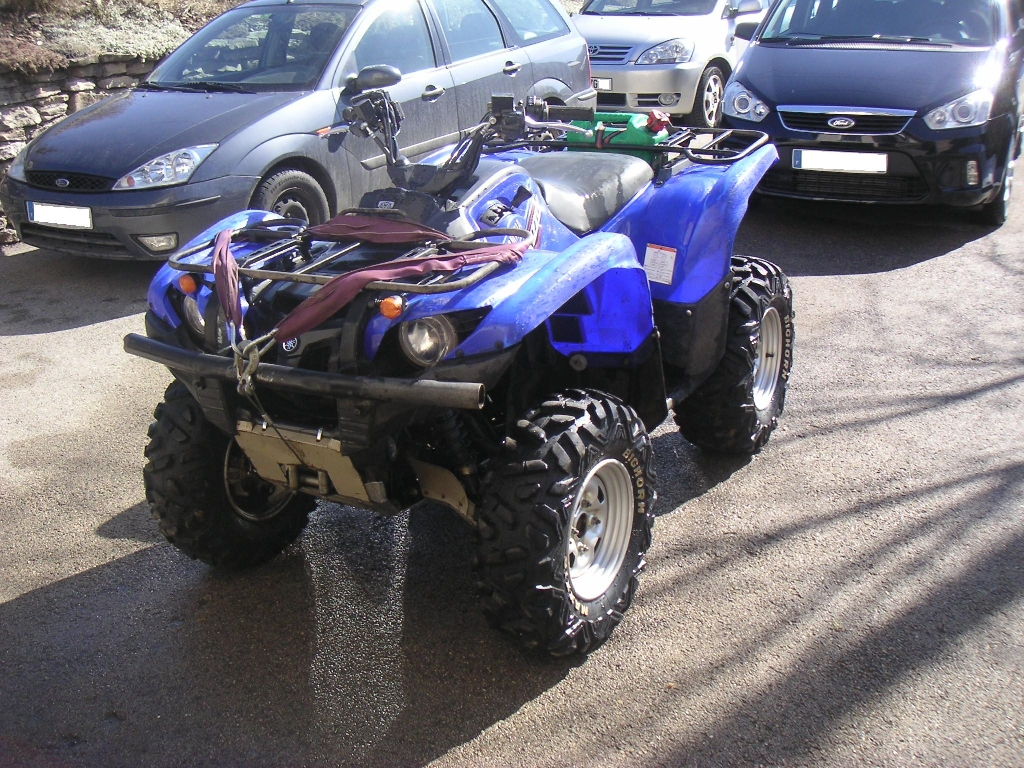 YAMAHA Grizzly 700  2008 photo 3