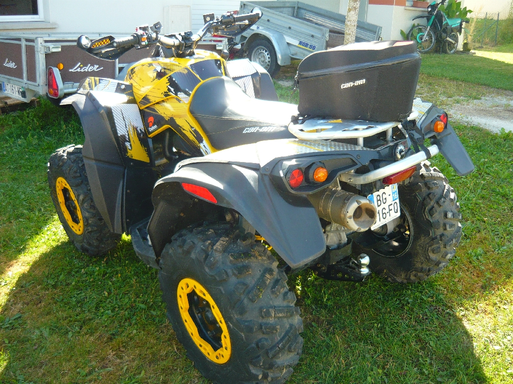 CAN-AM BOMBARDIER Renegade 800 XXC 2011 photo 3