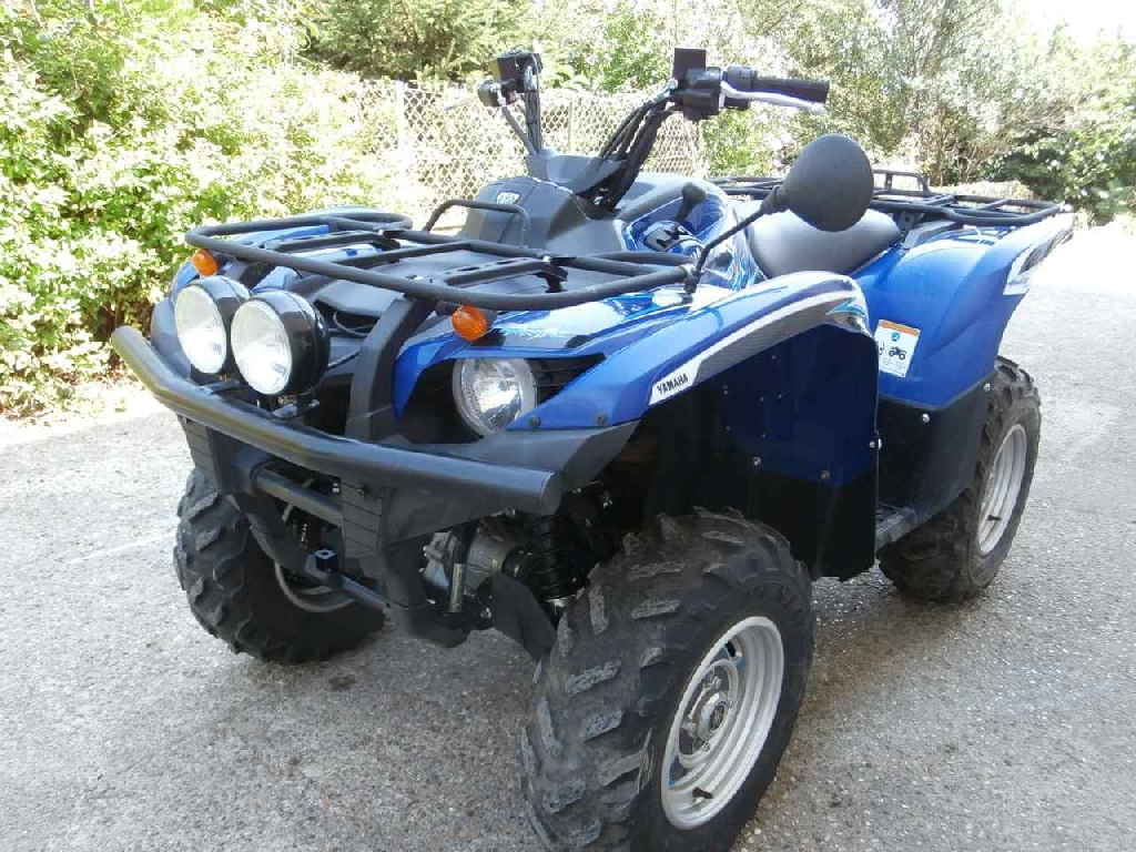 annonce quad yamaha grizzly 700 occasion 2011 39 jura bletterans. Black Bedroom Furniture Sets. Home Design Ideas