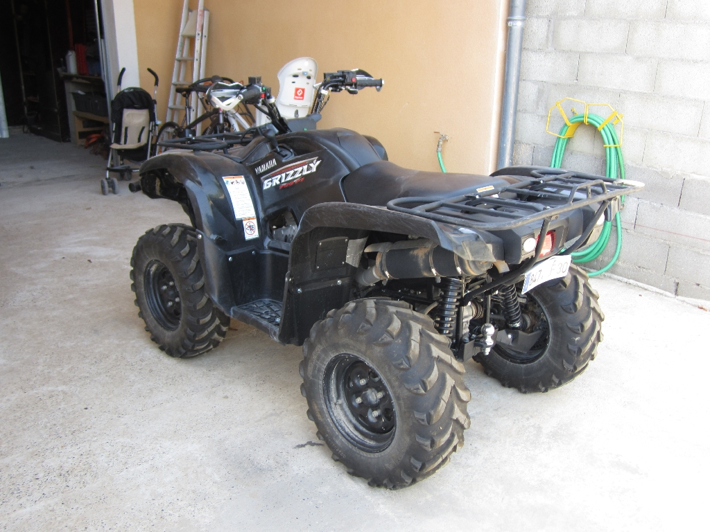 YAMAHA Grizzly 700 MAGA 2009 photo 2