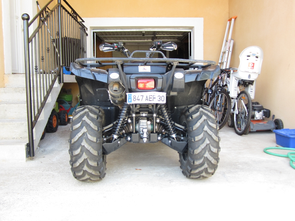 YAMAHA Grizzly 700 MAGA 2009 photo 3