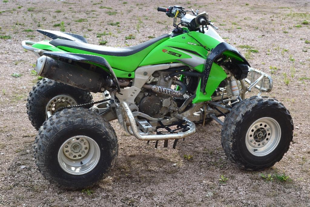 annonce quad kawasaki kfx 450 r occasion 2008