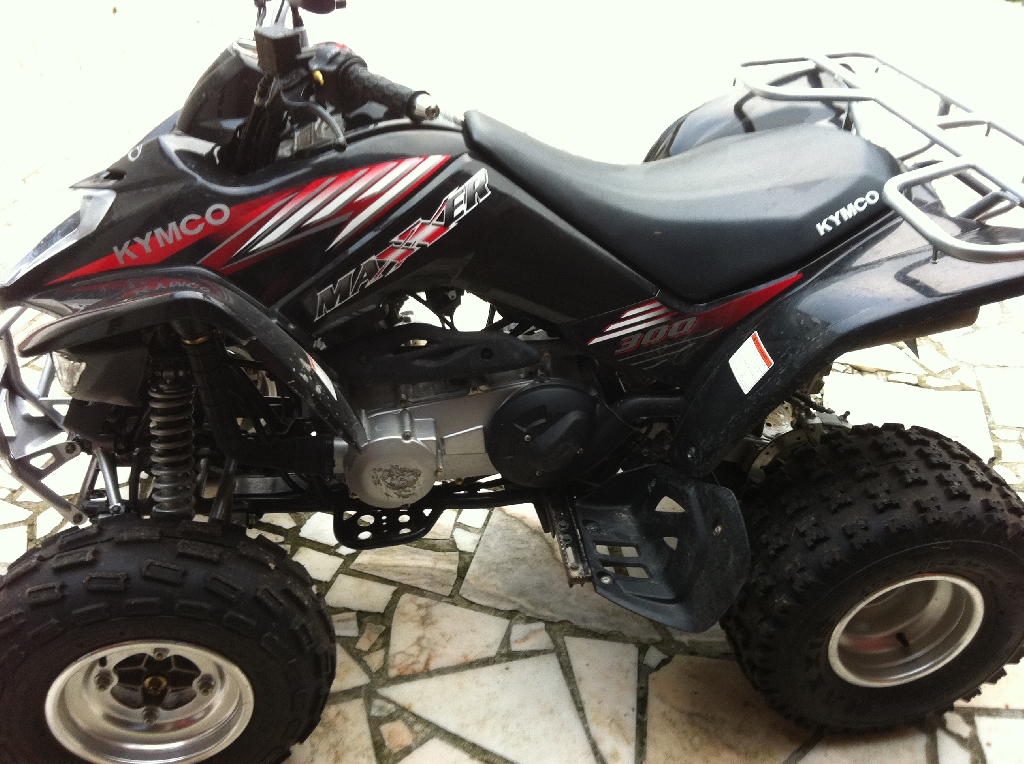 annonce quad kymco maxxer 300 occasion 2007 62 pas de calais lillers. Black Bedroom Furniture Sets. Home Design Ideas