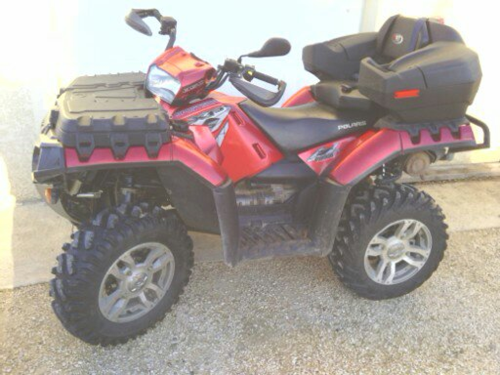 annonce quad polaris sportsman 850 xp occasion 2009 26 dr me beaumon monteux. Black Bedroom Furniture Sets. Home Design Ideas