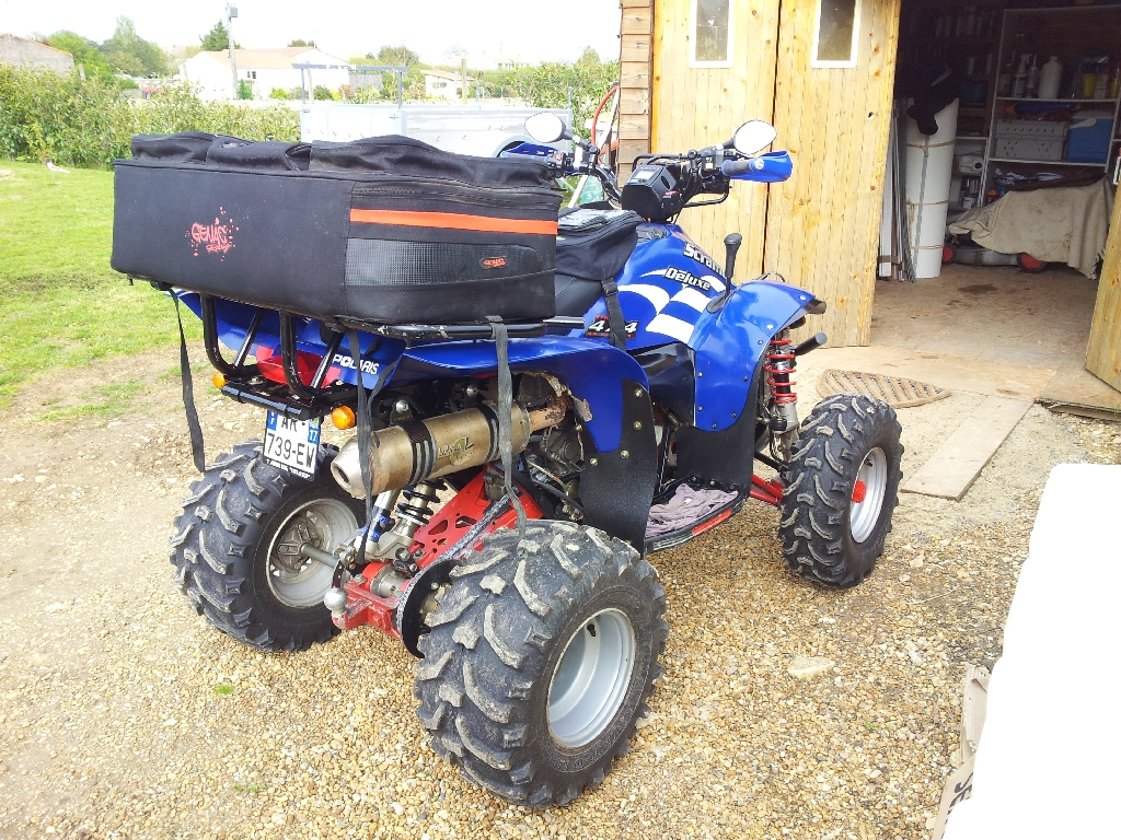 annonce quad polaris scrambler 500 deluxe occasion 2009 17 charente maritime muron. Black Bedroom Furniture Sets. Home Design Ideas