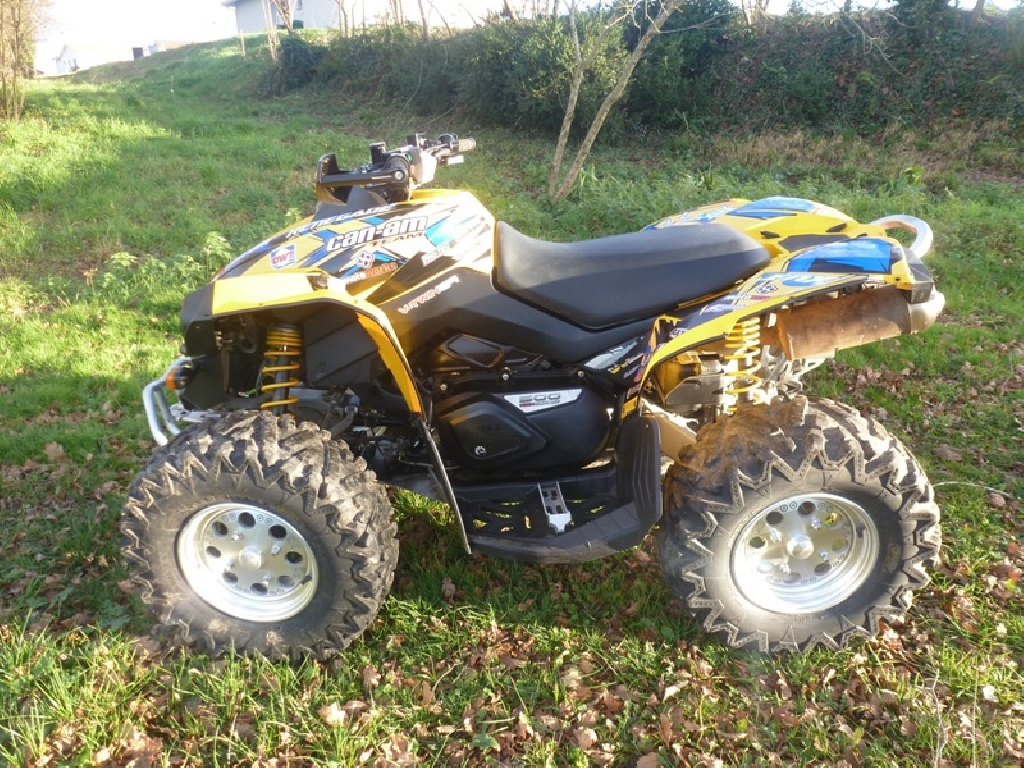 CAN-AM BOMBARDIER Renegade 500  2009 photo 2