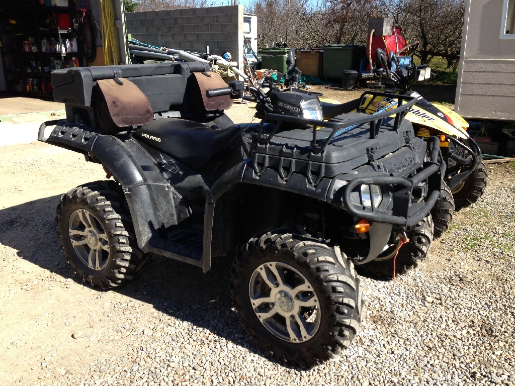 annonce quad polaris sportsman 850 occasion 2009 66 pyr n es orientales st jean pla de corts. Black Bedroom Furniture Sets. Home Design Ideas