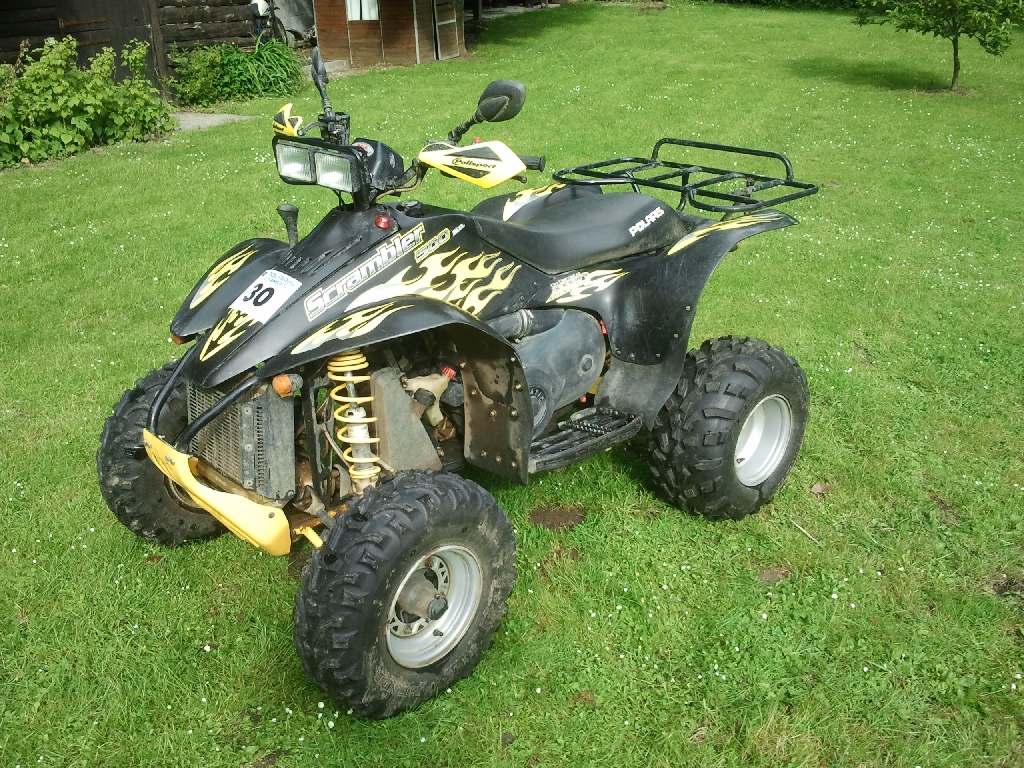 annonce quad polaris scrambler 500 4x4 occasion 2006 27 eure hondouville. Black Bedroom Furniture Sets. Home Design Ideas