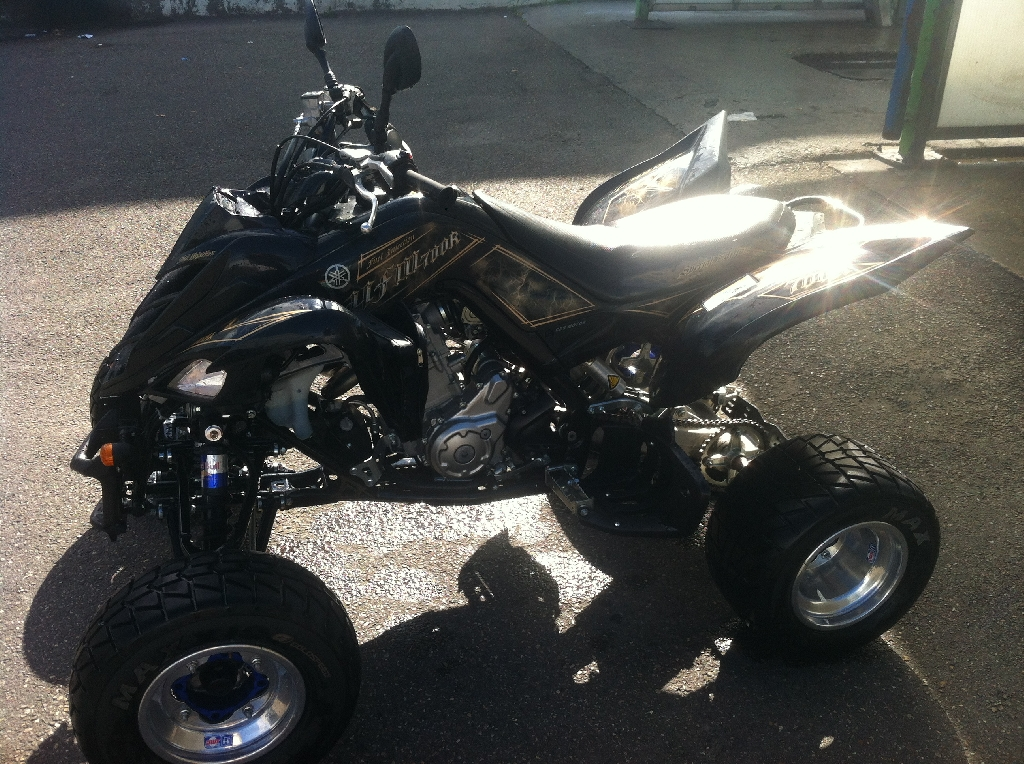 YAMAHA YFM 700 R Raptor edition limite 2012 black and gold 2012 photo 1