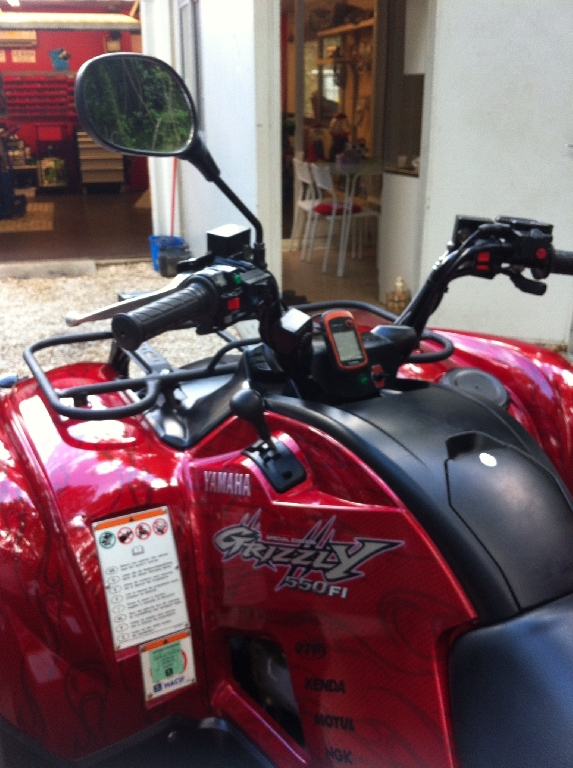 annonce quad yamaha grizzly 550 occasion 2010