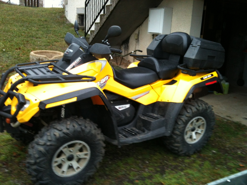quad can am 650 outlander occasion