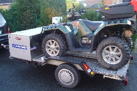 Quad POLARIS Sportsman 550 xps occasion