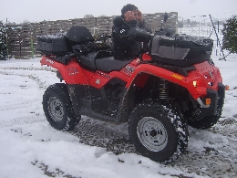 Quad CAN-AM BOMBARDIER Outlander 400  occasion