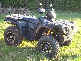 Quad POLARIS Sportsman 800 black edition occasion