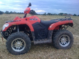 Quad ARCTIC CAT 400  occasion