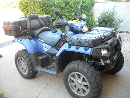 Quad POLARIS Sportsman 550  occasion