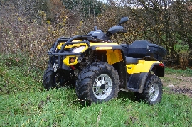Quad CAN-AM BOMBARDIER Outlander 650 xt occasion