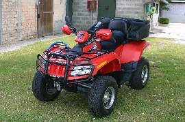 Quad ARCTIC CAT TRV 550  occasion