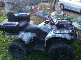 Quad YAMAHA Grizzly 450 camo occasion