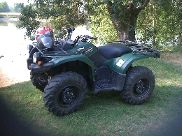Quad YAMAHA Grizzly 450  occasion