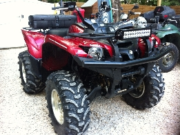 Quad YAMAHA Grizzly 550  occasion